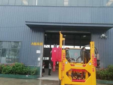 重庆公路护栏立柱拔桩机