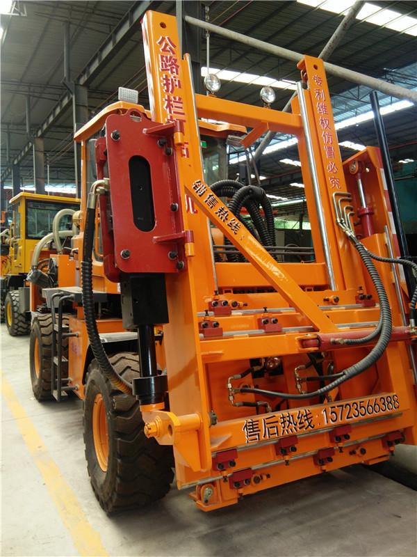 公路立柱拔桩机应该怎样选用|行业动态-重庆渝工科技有限企业